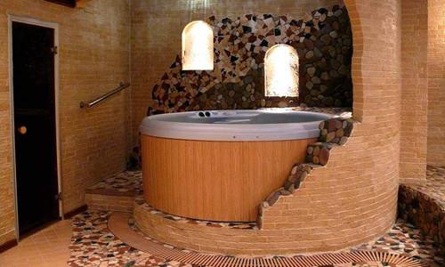 Баня с джакузи