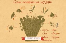 Схема семи русских веников